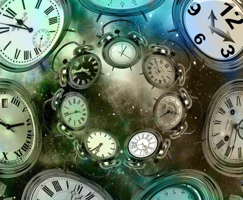 Az idő halad, és kérlelhetetlenül haladni is fog.